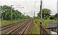 SE5706 : Site of Arksey ECML station, 1992 by Ben Brooksbank