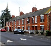 SO8005 : Row of houses, Bath Road, Stonehouse by Jaggery