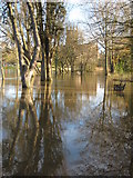 SO8454 : A flooded Bromwich Parade by Philip Halling