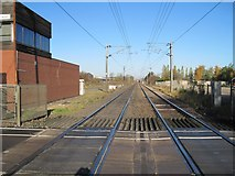 SK7964 : Carlton-on-Trent railway station (site), Nottinghamshire by Nigel Thompson