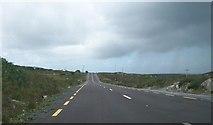 B7810 : The N56 crossing the moorlands east of Croaghnashallog Lough by Eric Jones