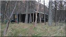 NO2875 : Carn Dearg Mountaineering Club hut by Richard Webb