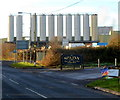 SO7905 : Eastern side of Dairy Crest Severnside, Stonehouse by Jaggery
