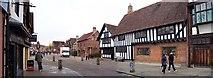 SP2055 : Henley Street, Stratford-upon-Avon by Len Williams