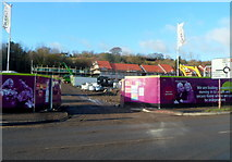 ST2995 : Greenhill Construction site, Cae Nant, Cwmbran by Jaggery
