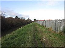 TA0832 : Barmston Drain towards Greenwood Avenue, Hull by Ian S