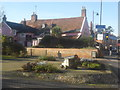 TM2749 : Behind the Red Lion Pub, Woodbridge by Ed of the South