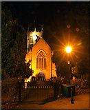 TA0432 : Cottingham Church at Night by Andy Beecroft