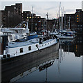 TQ3480 : St Katharine Docks, West Dock by Oast House Archive