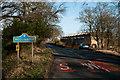NZ1446 : B6296 entering Hollinside from south-west by Trevor Littlewood