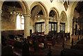 TL6669 : St Margaret, Chippenham - North arcade by John Salmon
