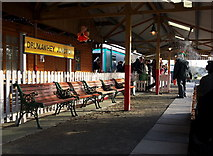 J5476 : Platform, Drumawhey Junction by Rossographer