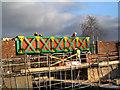 SD7506 : Meccano Bridge at Nob End by David Dixon