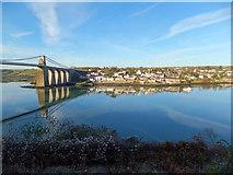 SH5571 : Menai Bridge (1) by Richard Hoare