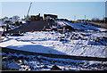 NS4469 : New road construction at Bishopton by Thomas Nugent