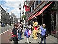 TQ2980 : Snapping Pooh Bear, Regent Street, W1 by Robin Stott