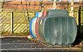 J4569 : Recycling bins, Comber by Albert Bridge