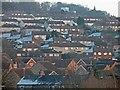 SK4671 : Bolsover rooftops by Steve  Fareham