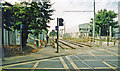 TQ2967 : Beddington Lane tram-stop by Ben Brooksbank
