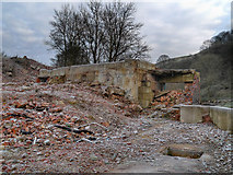 SD7506 : Remains of Creams Paper Mill by David Dixon