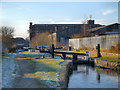 SJ9498 : Lock 3W, Huddersfield Narrow Canal by David Dixon