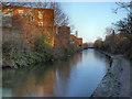 SJ9297 : Ashton Canal, Guide Bridge by David Dixon