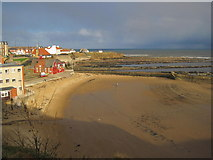 NZ3671 : Cullercoats Bay by Les Hull