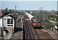 O2250 : Cement train entering Donabate station - 1980 by The Carlisle Kid