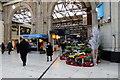 TQ2879 : Flower Shop, Victoria Station, London SW1 by Christine Matthews