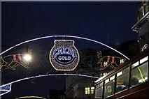 TQ2881 : Christmas Lights, Oxford Street, London W1 by Christine Matthews
