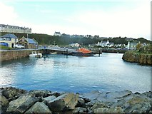 NW9954 : Portpatrick harbour by Ann Cook