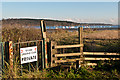 TM1740 : Footpath to Stoke Sailing Club by Ian Capper