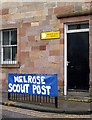 NT5434 : Melrose Scout Post by Walter Baxter