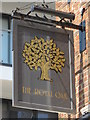 TQ3103 : Sign for The Royal Oak, St. James's Street / Chapel Street, BN2 by Mike Quinn