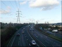 TQ4384 : A406 North Circular towards Wanstead by David Anstiss