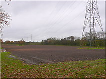 SP2375 : Power Lines at Holly Lane by Nigel Mykura