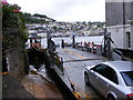 SX8851 : Kingswear Lower Car Ferry by Gordon Griffiths