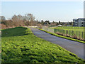 SK5737 : Trentside embankment  by Alan Murray-Rust