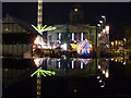 SK5739 : Christmas reflections in the Old Market Square  by Alan Murray-Rust