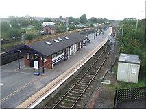 SE4081 : Thirsk railway station, Yorkshire by Nigel Thompson