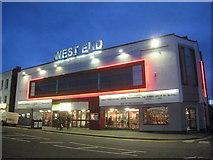 TF3243 : West End cinema, West Street, Boston by Jonathan Thacker