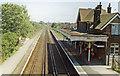 SU8105 : Bosham station, 1989 by Ben Brooksbank