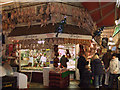 SP5106 : Christmas poultry, Hedges Butchery, Covered Market, Oxford by Vieve Forward