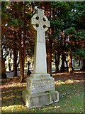 NS4075 : Memorial to John Buchanan by Lairich Rig