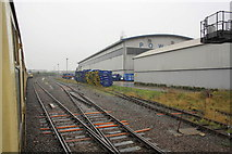 TQ2182 : Powerday Materials Recycling Facility, Old Oak Sidings by Roger Templeman
