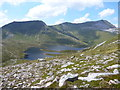 NN2265 : Coire an Lochain from the slopes of Sgurr Eilde Mor by Alan O'Dowd