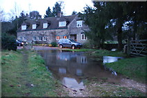 SO9805 : Duntisbourne Rouse Ford by John Walton