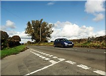 SO5504 : The B4428 near St. Briavels by nick macneill