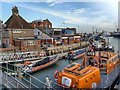 SZ0090 : RNLI Lifeboat Station, Poole Harbour by David Dixon
