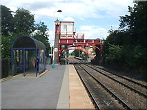 NZ1164 : Wylam railway station, Northumberland by Nigel Thompson
